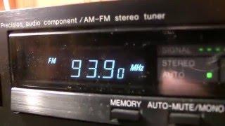 Денон 1986 ту-600 АМ/FM-тюнер