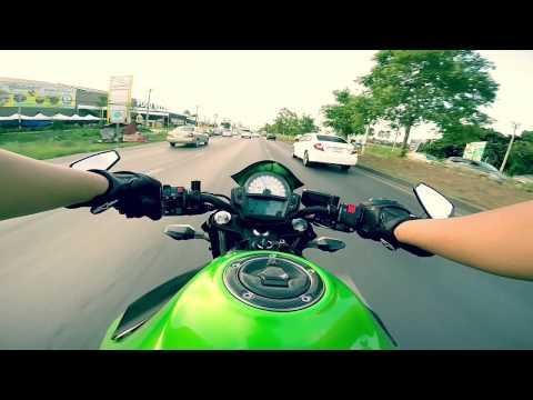 Kawasaki er6n : Bangkok , Thailand