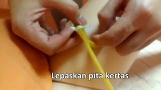 Cara merawat kateter urin (selang kencing)導尿管護理印尼