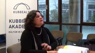 Funda Çapan Kubbealtı Tez Sunumları-Bölüm 1(16 Ocak 2015)
