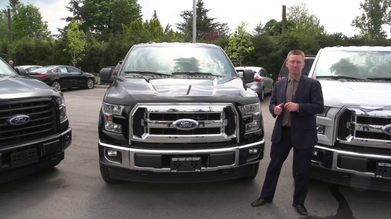 2017 ford f 150 xlt model differences vancouver ford. Black Bedroom Furniture Sets. Home Design Ideas