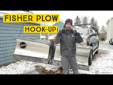 Fisher Xtreme-V Plow Minute Mount Hookup