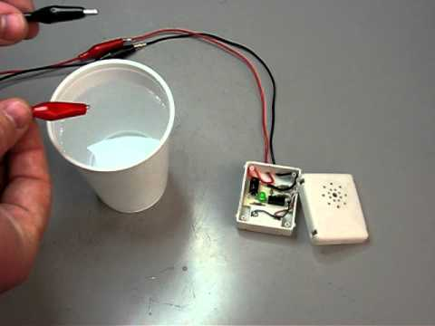 water alarm pcb detecting water youtubewater alarm pcb detecting water