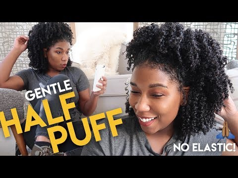My HALF-PUFF Natural Hairstyle HACK + CHIT CHAT | Naptural85