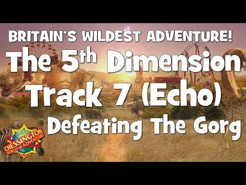 Chessington WoA - The 5th Dimension Track 7 (Defeating The Gorg) Echo - 30 Minute Loop