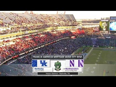 Football - Kentucky Highlights (12/29/17)