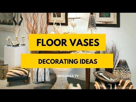50+ Beautiful Decorating Ideas with Floor vases