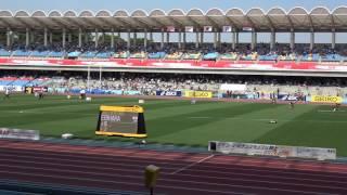 SEIKO GGP2017 Women Javelin Throw Yuki EBIHARA 56m88(6th throw) 海老原有希