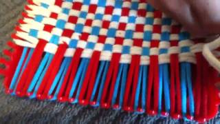 Part 2 how to make a potholder