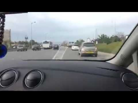 Crazy driving in Traffic Algeria 2016