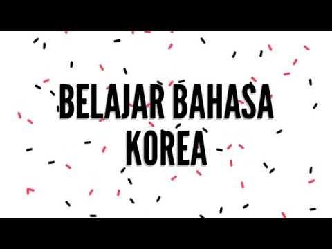 Belajar bahasa korea gratisss dengan mudah