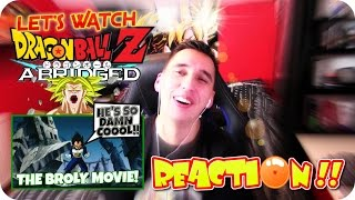 HOW BIG IS YOUR POWER LEVEL??| LET'S WATCH DBZ Abridged The Broly movie #TFSBROLY REACTION!!