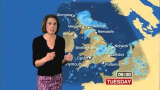 NINA RIDGE:-: BBC Weather - 09 July 2012 -