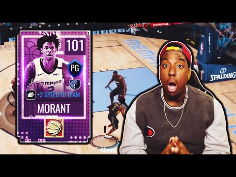 HOW MANY ANKLES CAN WE BREAK? 101 OVR MOBILE MADNESS MASTER JA MORANT GAMEPLAY!!! NBA LIVE MOBILE 20