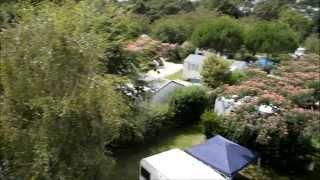 Vue 360° du camping Mané Guernehué 5 étoiles à Baden, Golfe du Morbihan