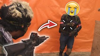 Definitivamente DOLOROSO 💀 ▬ Documental TÁCTICO muy SERIO uwu💖 ▬ Airsoft Gameplay