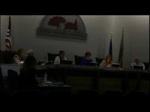August 18 2016 Northville Board Meeting