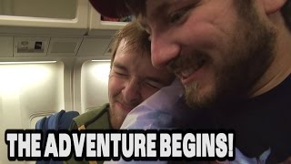 The Adventure Begins! | London Trip