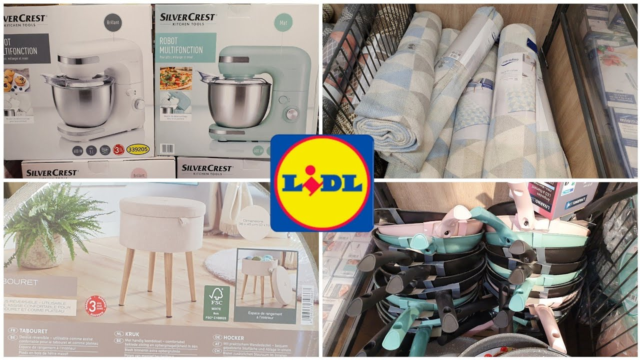 Arrivage Lidl 10 Aout 2020 Youtube