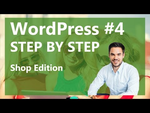 WooCommerce - WordPress Shop erstellen Tutorial / WP Step by Step #04