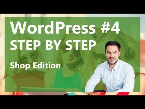 Webshop Erstellen mit WordPress als Shopsoftware