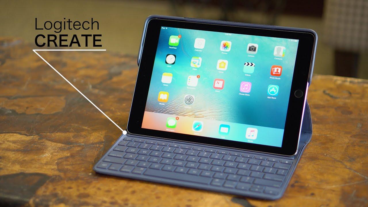 logitech backlit tablet case