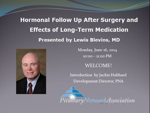Hormonal Follow Up After Surgery and Effects of Long Term Medication