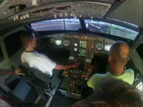 Me flying Airbus A320