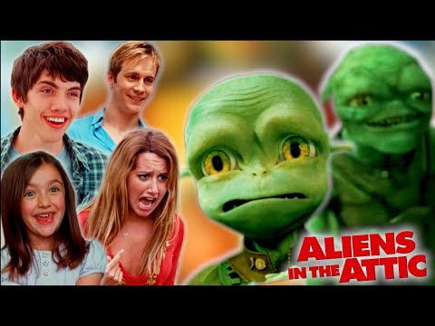 """Download """"Aliens in the Attic"""" is Surprisingly *Creepy*?? (commentary & reactions)"""
