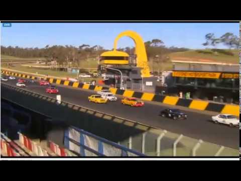 Gp Nb and Nc Heat 2 Retro Speedfest Sydney 4th May 2014