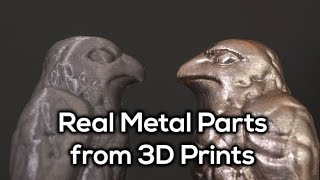 Easy, Reusable and LOW TEMP Metal Casting from 3D Printed Parts!