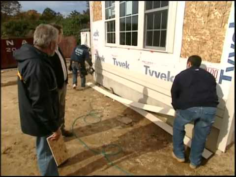 Installing Smartside Engineered Wood Siding Youtube