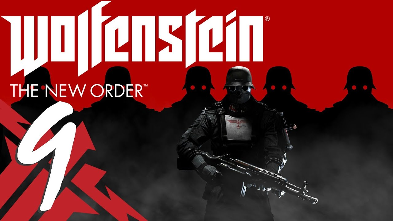how to beat giant robot in wolfenstein new order