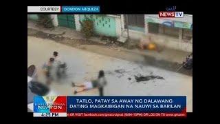 BP: Tatlo, patay sa away ng dalawang dating magkaiban na nauwi sa barilan