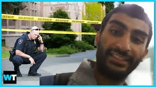 Should YouTuber Arab Andy GO TO JAIL For Fake UW Bomb Threat? | What's Trending Now!