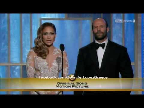 Jennifer Lopez Gives Award to Adele for Skyfall  Golden Globes 2013