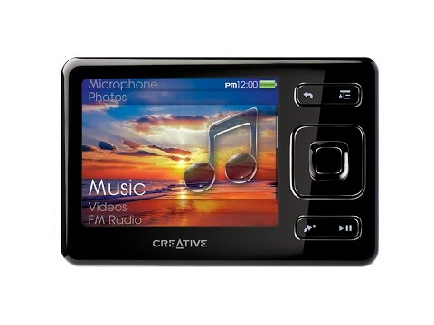 Creative Zen mp3 player 2GB