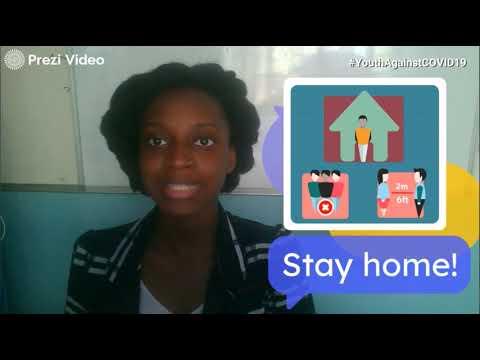 TRINIDAD & TOBAGO:  #CaribbeanYouthAgainstCOVID19 and #YouthAgainstCOVID19 - Bernice Antoine