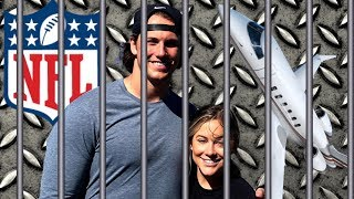 my epic birthday: prison, private jets, and nfl tryouts | andrew east + shawn johnson