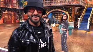 Live from The Kapil Sharma Show | Ranveer Singh | Alia Bhatt | Gully Boy Special