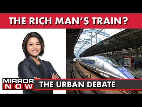 Is India Ready For Bullet Train? I The Urban Debate With Faye D'Souza