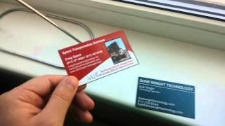 Необычные визитки из США