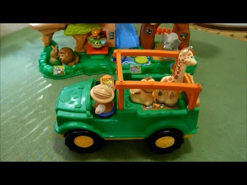 Review: Fisher Price Little People Animal Sounds Safari ...
