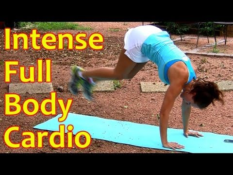 10 Minute Full Body Workout   Intense Cardio to Burn Fat, Fitness Training Dena Maddie