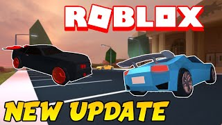 Roblox Jailbreak Wings and Spoiler Update!  Headlight Colors and Soccer Goal Challenge and more!