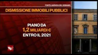 19/07/2019 - TG2 (Rai 2) - Dismissioni immobili pubblici tramite la Rete Aste Notarili