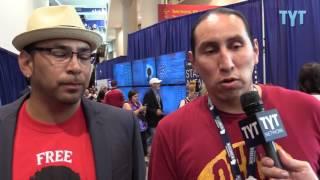 DNC: Native Americans on Clinton, Sanders, Trump