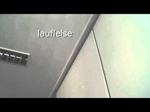laufleise mobile trennwand youtube. Black Bedroom Furniture Sets. Home Design Ideas