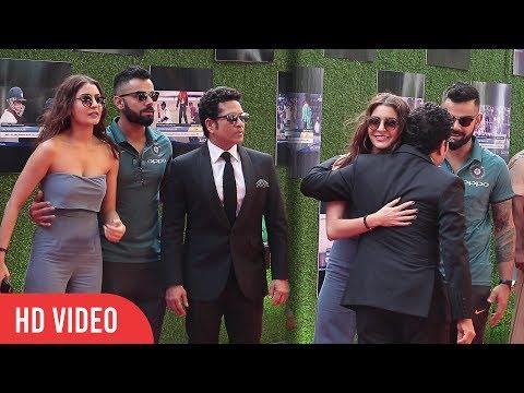 Virat kohli And Anushka Sharma At Sachin A Billion Dreams Grand Premiere | Viralbollywood