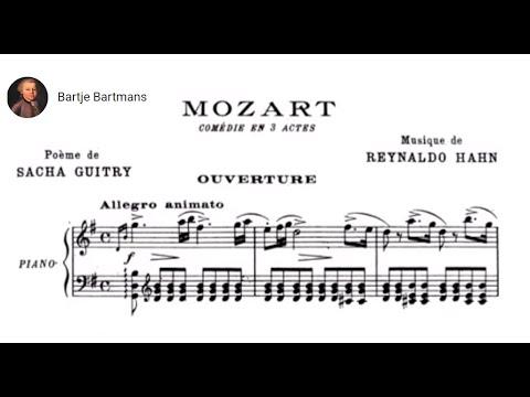 Reynaldo Hahn - Mozart (comédie musicale) 1925